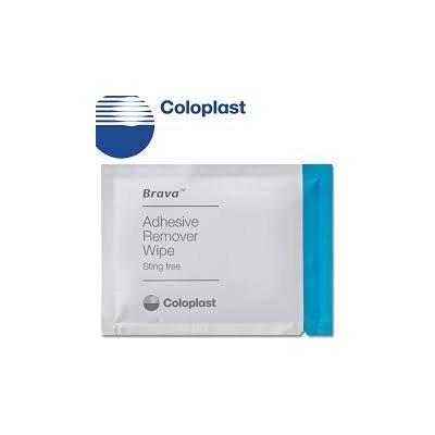 Coloplast Brava Adhesive Remover Wipe Part No. 120115 Qty 30 Per Box
