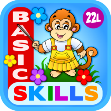 22learn, LLC Abby Monkey® Basic Skills: Preschool and Kindergarten Educational Learning Adventure Games for Toddler Explorers