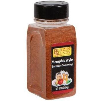 Blazin Blends Memphis Style Barbecue Seasoning 9 oz 1 bottle