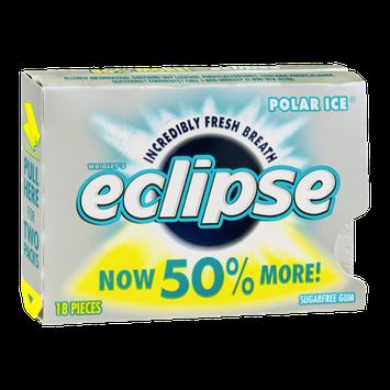 Wrigley's Eclipse Sugar Free Gum Polar Ice - 18 CT