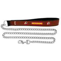 Game Wear Inc Gamewear Washington Redskins Football Leather Chain Leash Large