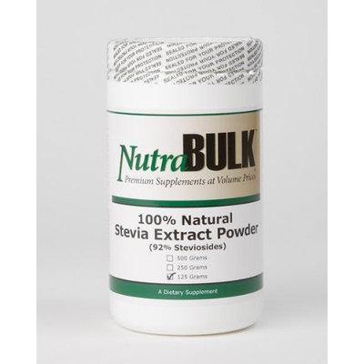 NutraBulk Stevia Extract Powder 5 oz - 125 grams