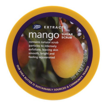 Boots Extracts Sugar Scrub