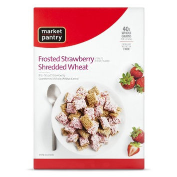 market pantry Market Pantry Cereal Frosted Strawberry Bite Size 15.5oz