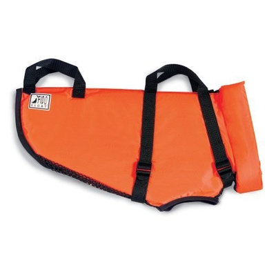 Premier Fido Float Dog Life Vest, Tiny, Orange