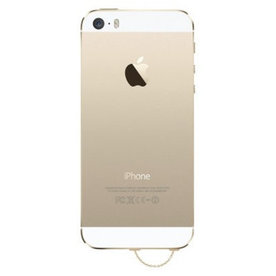 Agent 18 Dust Plug Gold Chain Cell Phone Jewelry - Multicolor (3DP-
