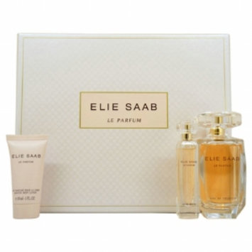 Elie Saab Le Parfum Eau de Toilette Gift Set for Women, 3 Piece, 1 set