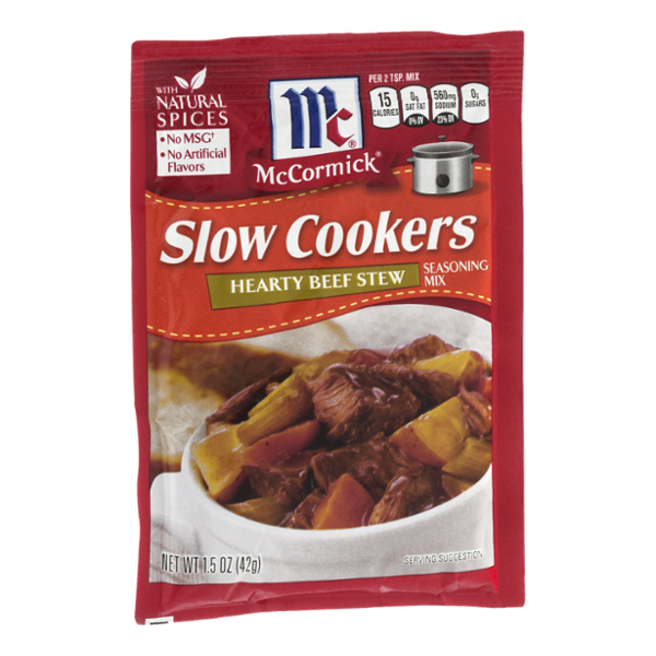 McCormick Slow Cookers Hearty Beef Stew Seasoning Mix