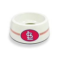 Sierra Accessories St. Louis Cardinals Classic Baseball Pet Bowl