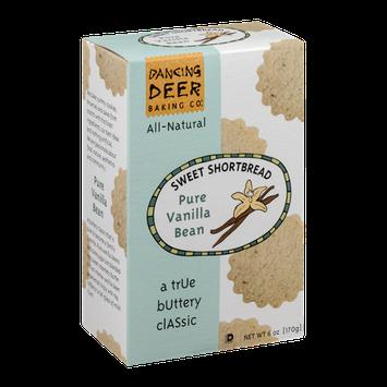Dancing Deer Sweet Shortbread Cookies Pure Vanilla Bean