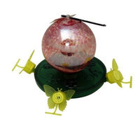 Exhart 80082 Hummingbird Feeder with Pearlized Glow Dark Ball, 28-Ounce (Discontinued by Manufacturer)