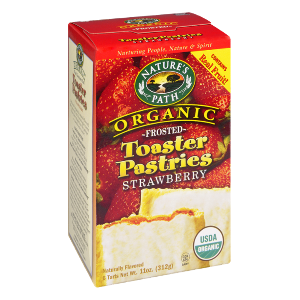 Nature S Path Organic Frosted Toaster Pastries Strawberry