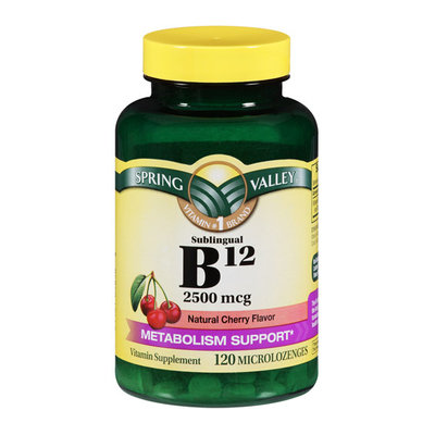 Spring Valley B12 Microlozenges