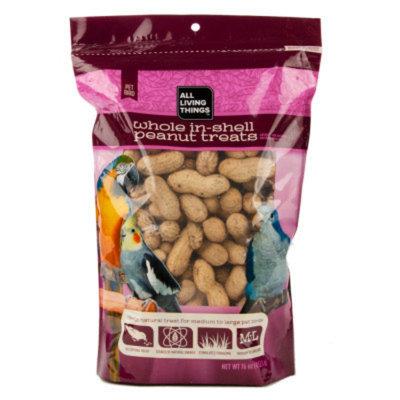 All Living ThingsA Whole in Shell Peanut Medium & Large Bird Treats