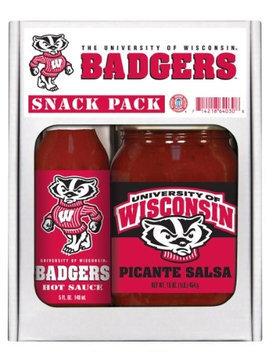 Wisconsin Badgers Snack Pack Hot Sauce Harry's