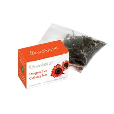 Revolution Tea Revolution Dragon Eye Oolong Tea, 30-Count Tea Bags