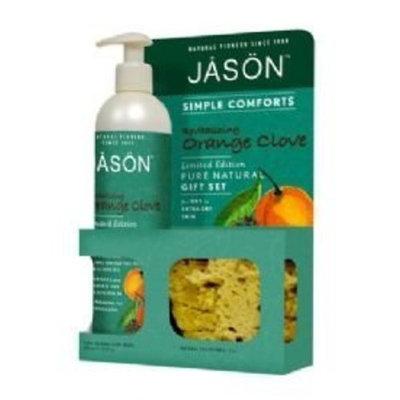 JĀSÖN JASON NATURAL PRODUCTS Simple Comforts Gift Set-Orange Clove 2 pc