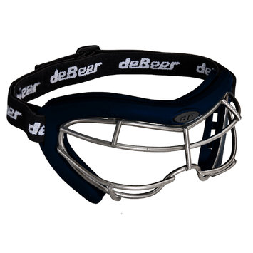 J. Debeer & Son Inc. DeBeer Lacrosse Vista SI Goggle Navy Frame and Silver Wire
