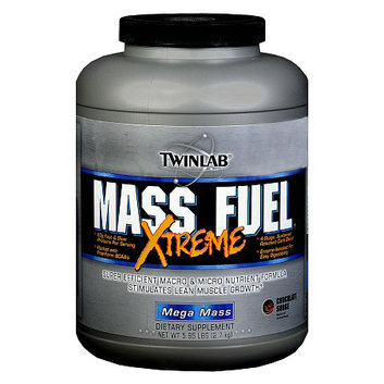 Twinlab Mass Fuel Xtreme Dietary Supplement Powder Chocolate Surge