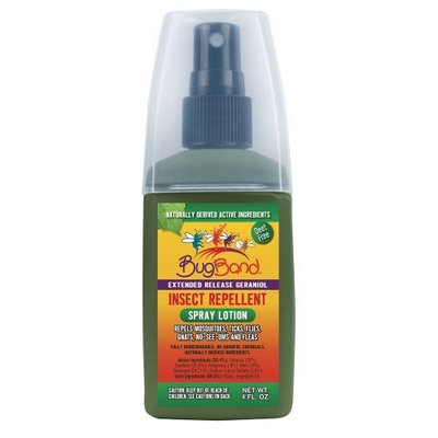 Bug Band Insect Repellent Spray Lotion 4 oz.