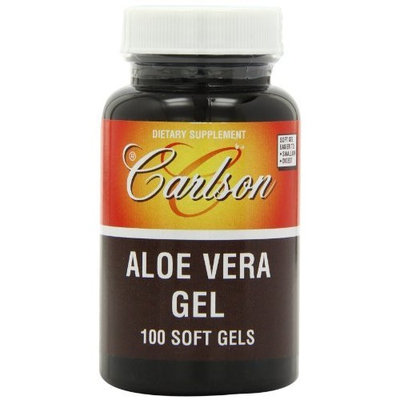 Carlson Labs Aloe Vera Gel, 25mg, 100 Softgels