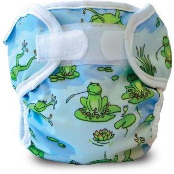 Bummis Super Whisper Wrap, Froggy Pond, 7-10 Pounds
