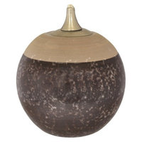 Lamplight Brown Speckled Oil Candle