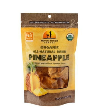 Mavuno Harvest Organic Dried Pineapple, 3 Ounce