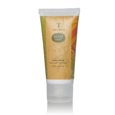 Thymes Hand Cream, Olive Leaf, 2.5-Ounce Tube