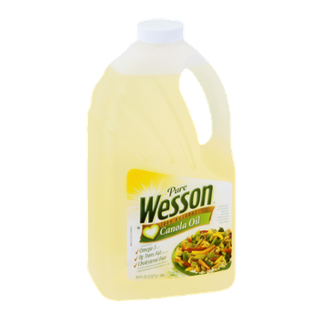 Pure Wesson Canola Oil 100% Natural