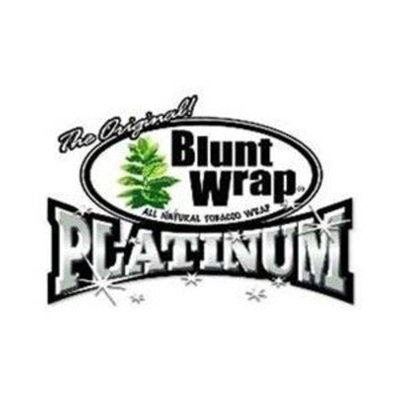 Double Platinum Blunt Wraps (Box of 25 Packs of 2 Cigar Wraps)