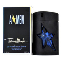 Thierry Mugler A*MEN 3.4  oz Eau de Toilette Rubber Flask Spray