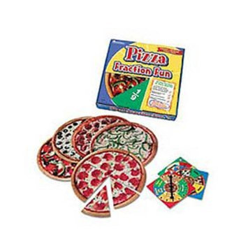 Learning Resources Pizza Fraction Fun Game Ages 6+
