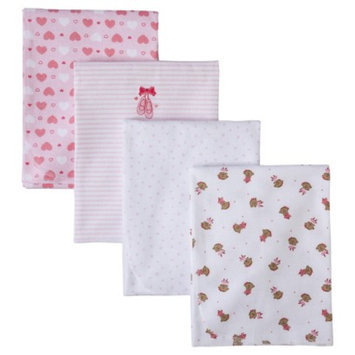 Just One You Made by Carter's Ballerina 4pk Receiving Blankets