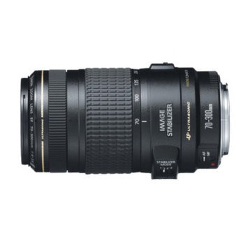 Canon EF 70-300mm f/4 - 5.6 IS USM Telephoto Zoom Lens - Black