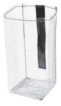 Rubbermaid 1919270 Executive Quick Cart Plastic Pocket Liner, Small, 4 X 3 4/5 X 8 1/2, Clear
