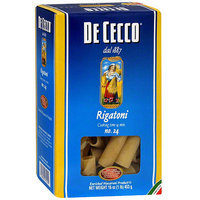 De Cecco Rigatoni Pasta, 16 oz (Pack of 10)