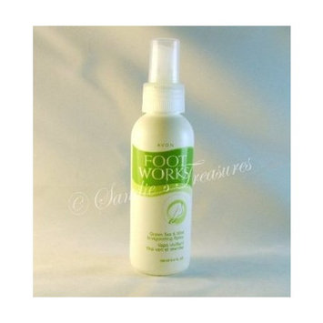 Avon Foot Works Green Tea & Mint Invigorating Spray
