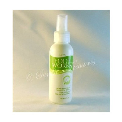 Avon Foot Works Green Tea & Mint Invigorating Spray