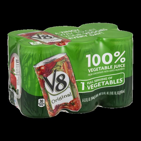 V8 100% Vegetable Juice Original