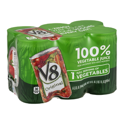 V8 100% Vegetable Juice Original