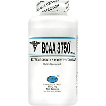 CTD BCAA 3750 Extreme Growth and Recovery Dietary Supplement Tablets