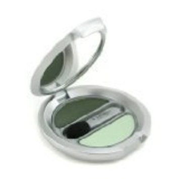 T Leclerc Powder Eye Shadow Matte & Iridescent Duo - # 24 Vert Amande ( New Packaging ) - T. LeClerc - Eye Color - Powder Eye Shadow Matte & Iridescent Duo - 2.4g/0.08oz