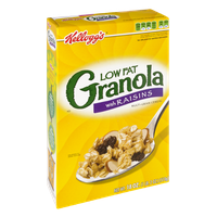 Kellogg's Low Fat Granola with Raisins Multi-Grain Cereal