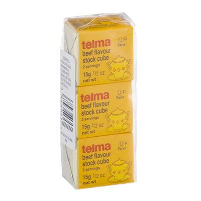 Telma Stock Cube Beef Flavour - 3 CT