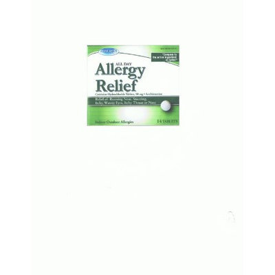 Assured Allergy Relief Cetirizine Hydrochloride Tablets 10 mg Antihistamine Assured Allergy Relief Compare to Zyrtec 10 Mg