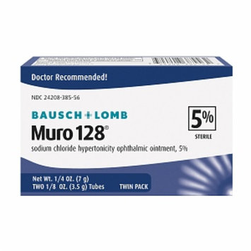 Muro 128 Sodium Chloride Hypertonicity Ophthalmic Ointment