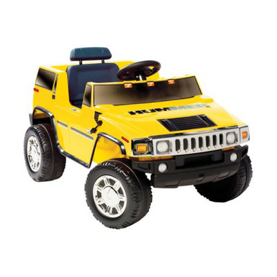 National Products LTD. National Products - Kid Motorz - Hummer H2 in Yellow 6V