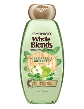 Garnier Whole Blends™ Refreshing 2-in-1 Shampoo & Conditioner With Green Apple & Green Tea Extracts