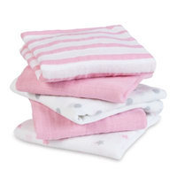 Aden & Anais aden® by aden + anais® Musy Square 5 Pack - Darling Print